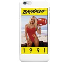 Baywatch-1991 iPhone Case/Skin