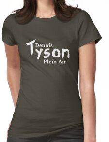 Dennis Tyson Plein Air Reverse Womens Fitted T-Shirt