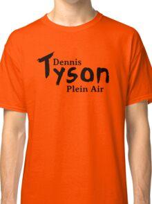 Dennis Tyson Plein Air Black Classic T-Shirt