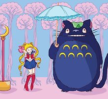 Sailor Totoro by FlowerFace