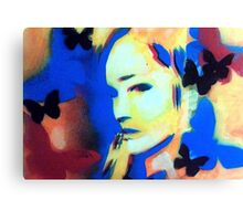 Primary Spray Canvas Print