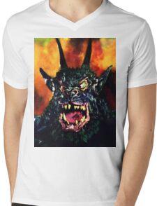 Curse of the Demon Mens V-Neck T-Shirt