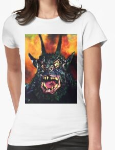 Curse of the Demon Womens Fitted T-Shirt