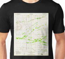 USGS TOPO Map Arizona AZ Desert Well 311119 1956 24000 Unisex T-Shirt