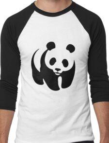 WWF Panda  Men's Baseball ¾ T-Shirt