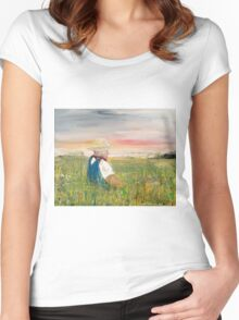 Country Dreams Women's Fitted Scoop T-Shirt