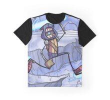 Luk on Ice Graphic T-Shirt