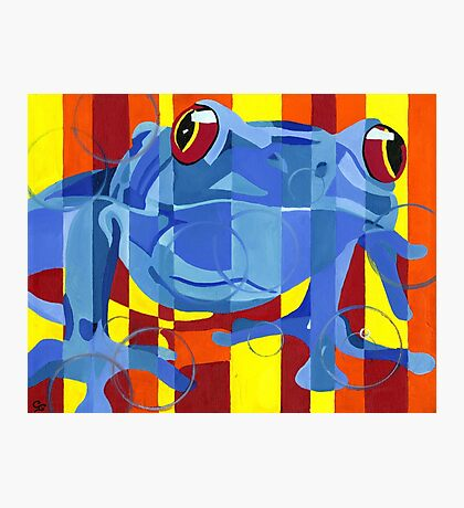 Primary Frog Photographic Print