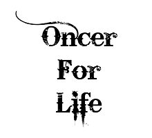 Oncer For Life Photographic Print