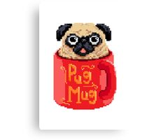 PugMug  Canvas Print