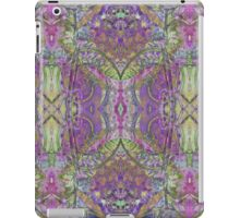 psychedelic teasels iPad Case/Skin