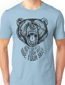 Save Your Self - Bear Unisex T-Shirt
