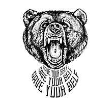 Save Your Self - Bear Photographic Print