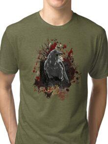 The Crow - Grunge Vintage Artwork Tri-blend T-Shirt