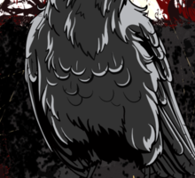 The Crow - Grunge Vintage Artwork Sticker