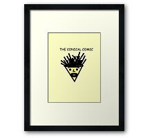 The Conical Comic (original) Framed Print