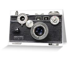 Argus Film Camera Greeting Card