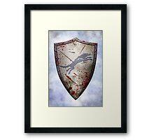 Stark Shield - Battle Damaged Framed Print