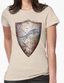 Stark Shield - Battle Damaged Womens Fitted T-Shirt