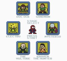 8-Bit Spider-Man Sinister Six Stage Select Kids Clothes