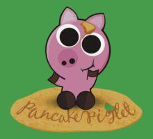 Pancake Piglet One Piece - Short Sleeve