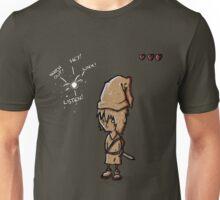 HEYWATCHOUTLISTENLINK. Unisex T-Shirt