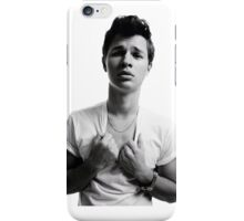 Ansel Elgort - Black & White iPhone Case/Skin