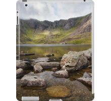 Llyn Idwal in the Snowdonia National Park iPad Case/Skin
