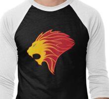 Beast Mode (Warm Colors) Men's Baseball ¾ T-Shirt