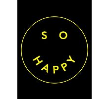 So Happy Photographic Print