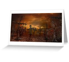 Cross forest Greeting Card