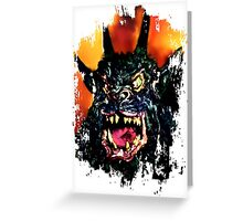 Night of the Demon Greeting Card