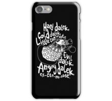 hard cold doctor who iPhone Case/Skin