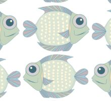 School Of Cool Fish Sticker