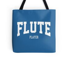 Flute Player Tote Bag