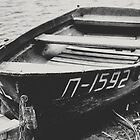 Old Kazakh Row Boat by Kadwell