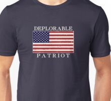 Deplorable Patriot (Light Letters) Unisex T-Shirt