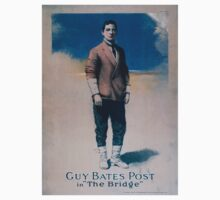 Performing Arts Posters Guy Bates Post in The bridge 0026 One Piece - Short Sleeve