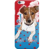 J is for Jack Russell iPhone Case/Skin