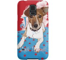 J is for Jack Russell Samsung Galaxy Case/Skin