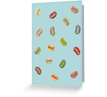 Jumpin' Jelly Beans Greeting Card