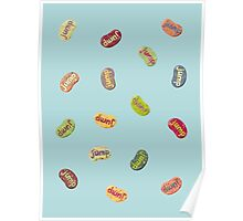 Jumpin' Jelly Beans Poster