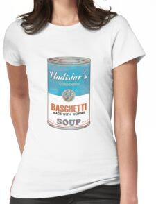 Vladislav's Basghetti, What We Do in the Shadows Womens Fitted T-Shirt
