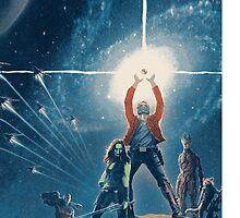 Guardians of the Galaxy Star Wars by jizzinmypants