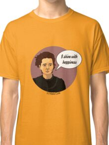 Funny science Marie Curie Classic T-Shirt