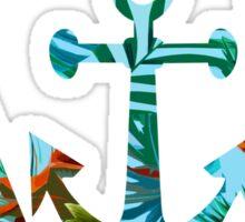 Δ anchor Γ Sticker