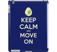 Move on! iPad Case/Skin