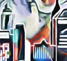 The Modern City Sticker