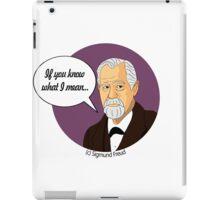 Funny science Sigmund Freud iPad Case/Skin