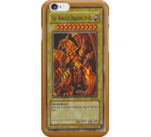 WInged Dragon of Ra Front Face Case iPhone Case/Skin